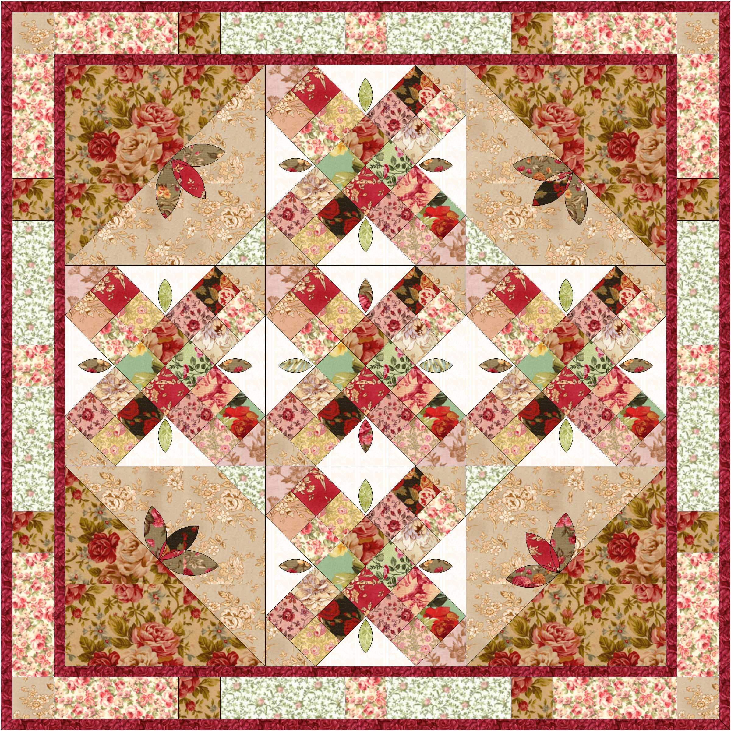 Celebrate Christmas Quilt Along Ladylike Designs