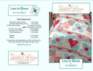 Love in Bloom pattern