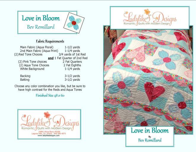 Love in Bloom pattern