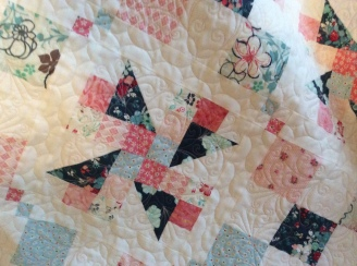 French Twist quilting